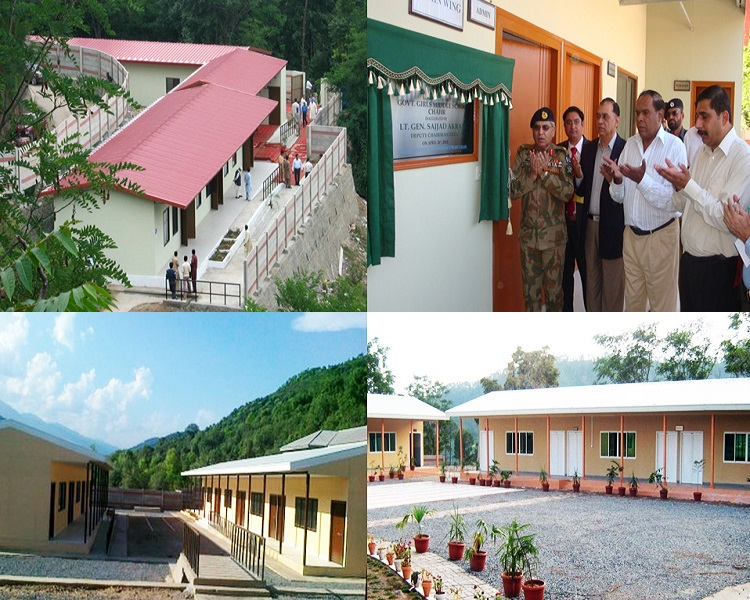 Earthquake Emergency Assistance Project, Construction Supervision of 309 Middle Schools in AJ&K