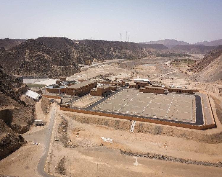 Water Treatment Plant, Khulais Project Phase –I, Kingdom of Saudi Arabia