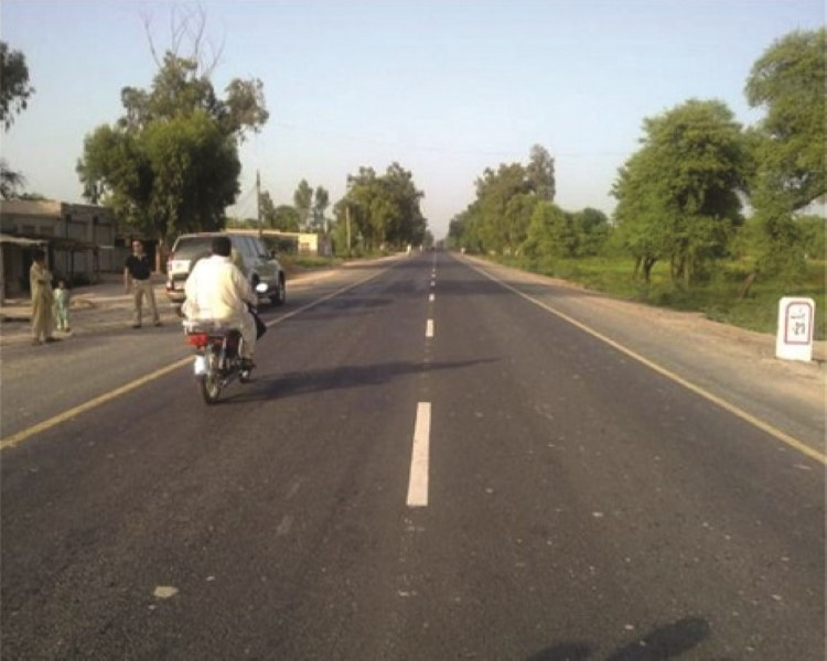 Remaining Works of ADB-assisted Punjab Road Sector Development Project